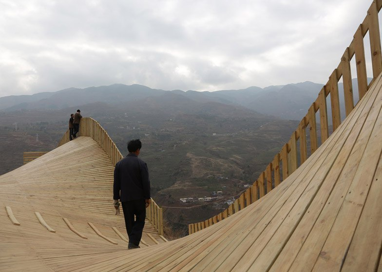 The Warp viewing platform doubles as a Chinese market