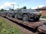 DB 185 143 mit Rad &amp Kettenpanzer Richtung Tschechien