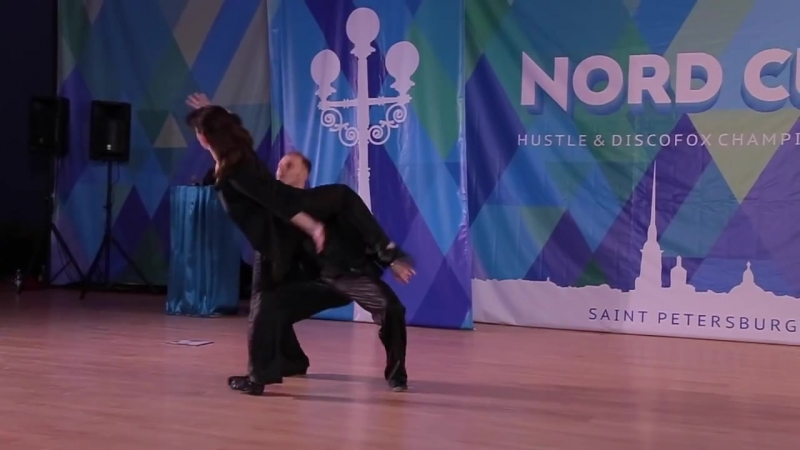 Nord Cup 2015 Шоу преподавателей Николай Апрелев Ирина Пузанова