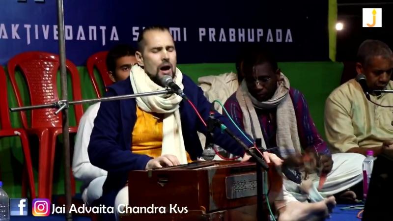 Gita Mela Mayapur. Kirtan by Hari Kirtan Kaufmann. 29.12.2017.