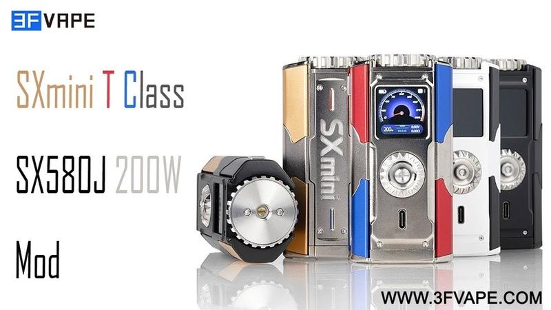 SXmini T Class SX580J 200W Mod