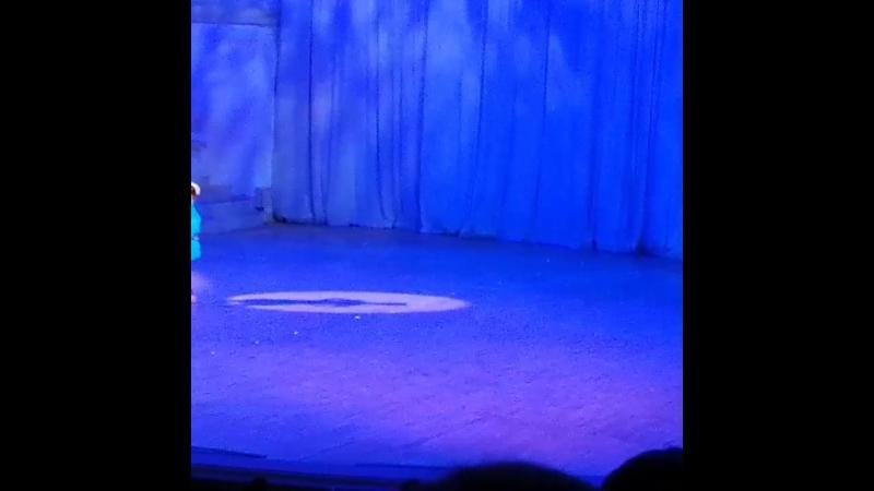 с Мариной на ансамбле Моисеева в зале Чайковского