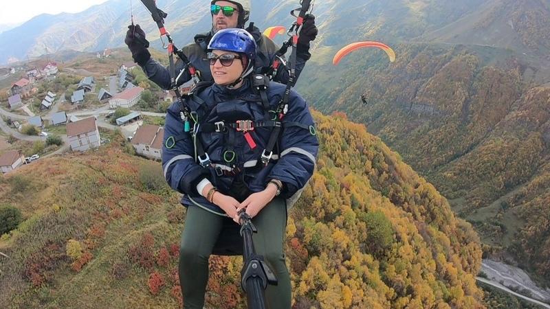 12102018 gudauri paragliding полет гудаури بالمظلات، جورجيا بالمظلات gudauriparagliding com 64