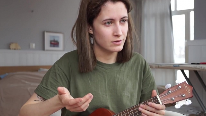 Как играть на укулеле Talk Me Down by Troye Sivan _ nixelpixel