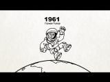 Вежливые Русские - Кто первый в космосе (серия 7)