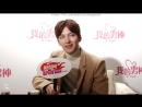 [РусСаб]Ji Chang Wook i-Fensi exclusive interview, 23.12.2015 г.
