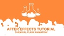 Chemical liquid After Effects tutorial