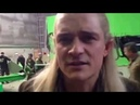 """Orlando Bloom """"They're taking the Hobbits to Isengard"""" Live"""