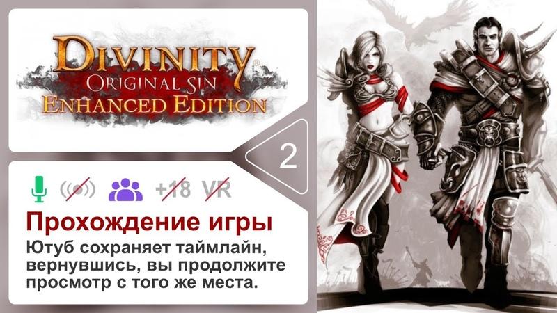 2 Divinity Original Sin Enhanced Edition Прохождение Рус 4k