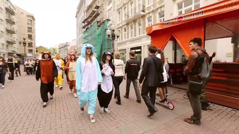 Kigurumi Pajamas Day,Onesie Day on street