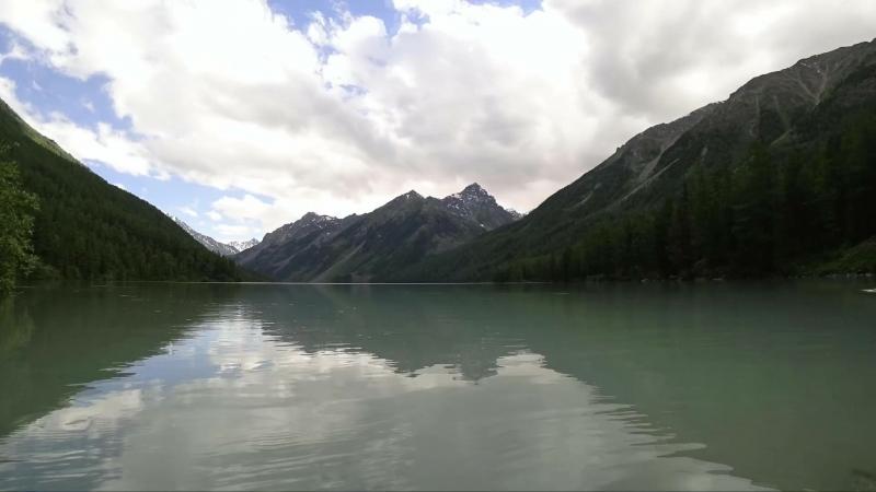 Озеро Кучерлинское Алтай Time lapse (хорошее разрешение)