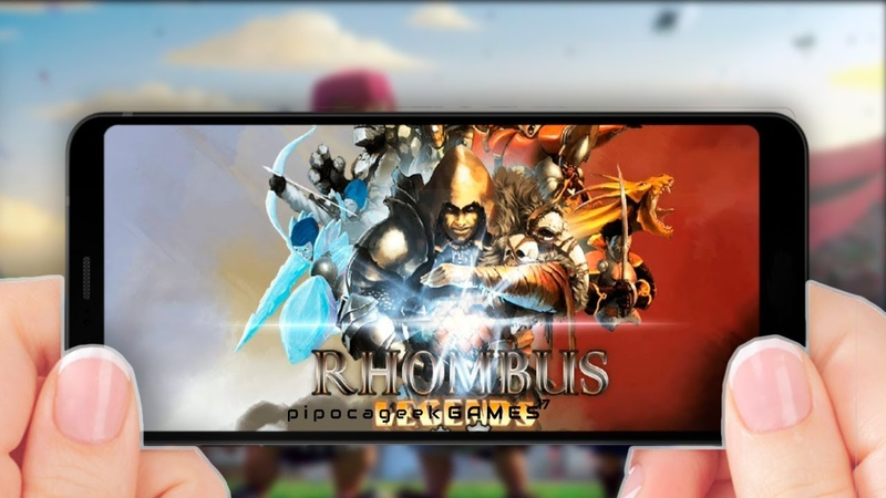 💀 RHOMBUS LEGENDS Gameplay [by Freeway Interactive] Android/iOS 1, 2018