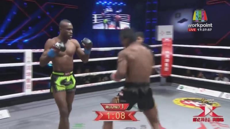 Video Vine 36 Буакав нокаутировал соперника!😵