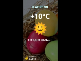 8 апреля погода