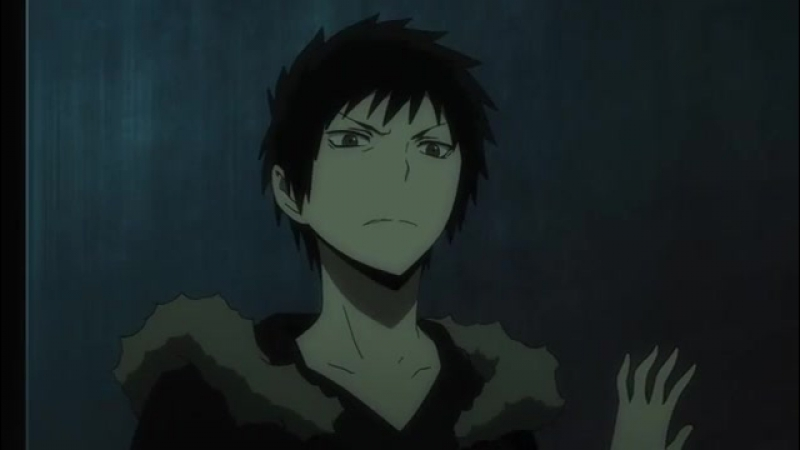 Момент из 9 серии аниме Дюрарара!! 2: Финал / Durarara!!x2 Ketsu