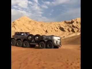 Пустынная яхта (VIDEO ВАРЕНЬЕ)