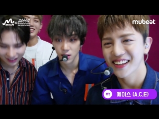BACKSTAGE | 21.09.18 | A.C.E @ MU:CON x AMN Showcase Behind Revealed! (A.C.E Cut)