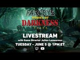 Far Cry 5 LIVESTREAM - Hours of Darkness &amp Map Editor Ubisoft