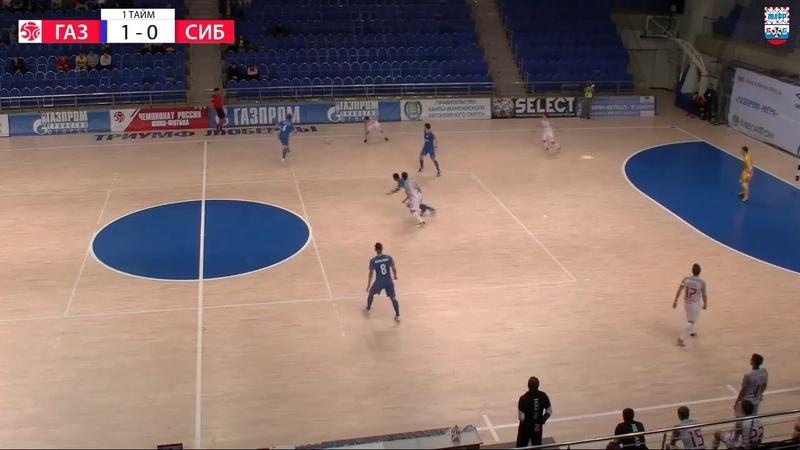 Суперлига. 5-й тур. «Газпром-ЮГРА» - «Сибиряк» (Новосибирск). Второй матч