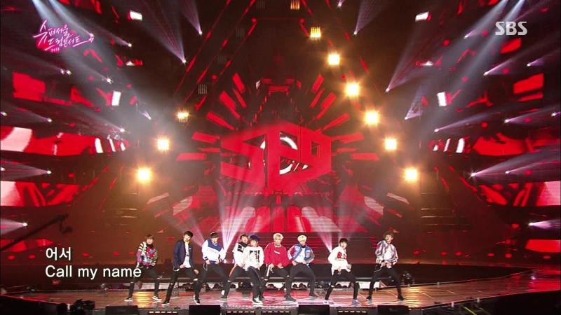 SF9 - Fanfare @ SBS Super Seoul Dream Concert 161204