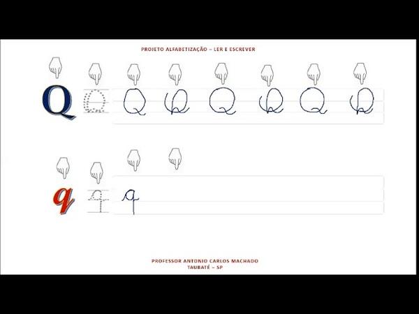 Aula 17 Libras Leitura e escrita do alfabeto Língua Portuguesa