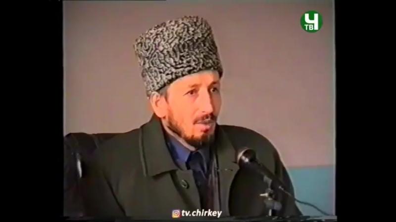 Муфтий РД Шейх Ахмад Хаджи (к.с.) о мутаалимах