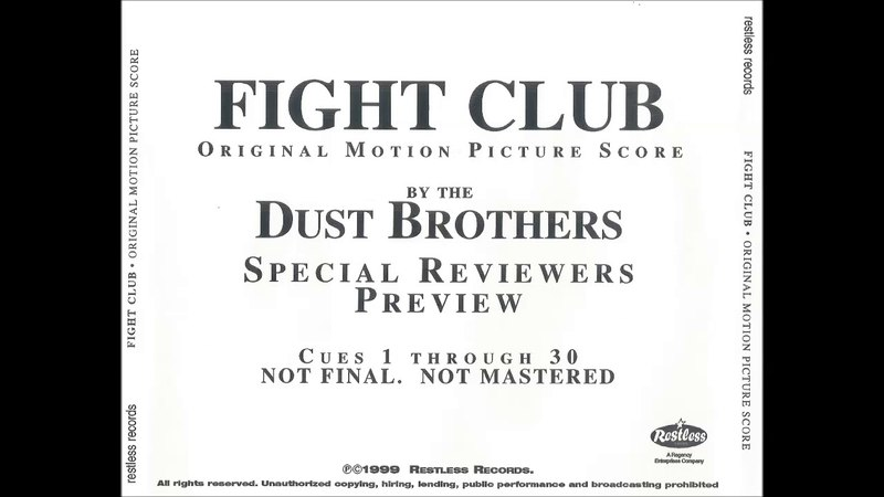 Fight Club - Original Motion Picture Score (Special Reviewers Preview)