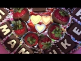 Шоколадные конфеты-буквы ручной работы. Алевтина 89307701993
