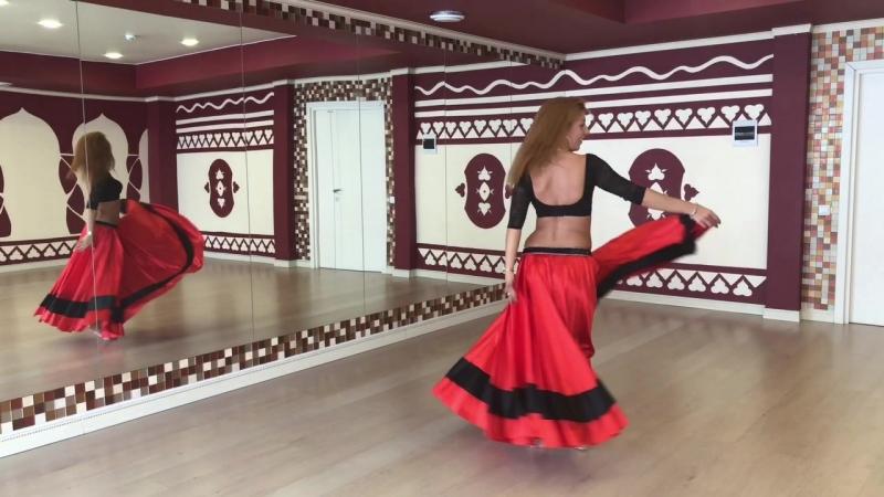 Связка 5 от Елены Амани ( учим танец живота самостоятельно)