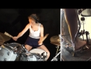 ACDC Whole Lotta Rosie Drum Cover by Sina