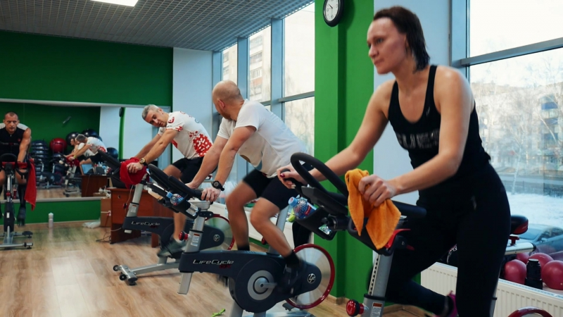 Второй видео отчет со Starc Triathlon indoor and World Gym 17.12.17