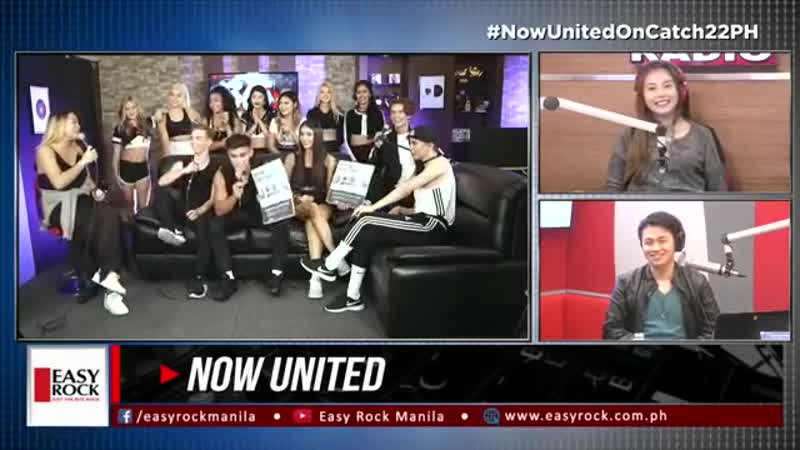 Love Radio Manila - Now United on 365 LIVE