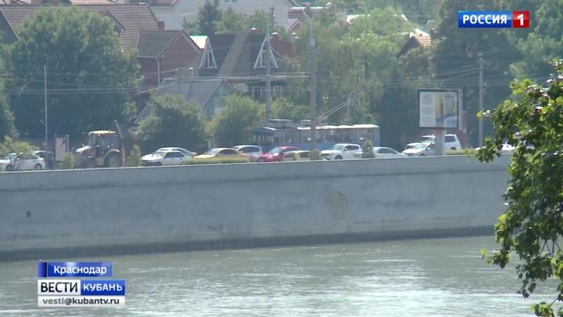 Как справляется с заторами Тургеневский мост в Краснодаре_ прямое включение (1)