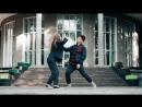 Наши педагоги по поппингу и хип хопу Дмитрий Ким и Елена Феоктистова