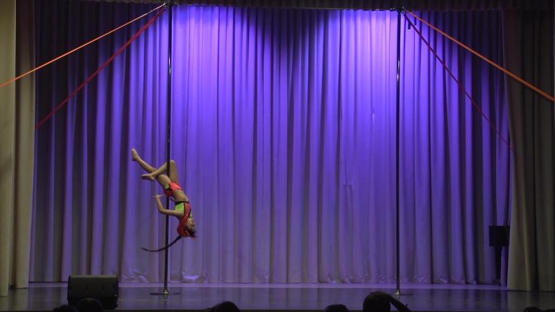 Ксения Вересовая   Pole Artistic Дети   2017 Другие Танцы Осень