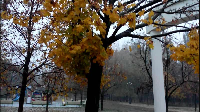 Снежный ноябрь в Феодосии 13.11.2018 г.