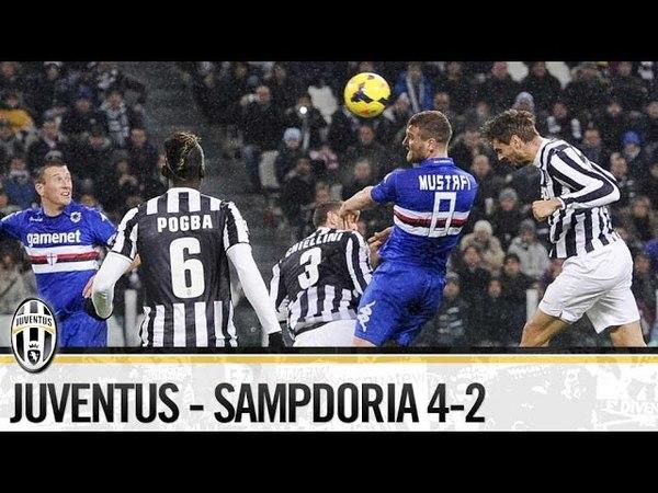 Juventus-Sampdoria 4-2 18/01/2014 The Highlights