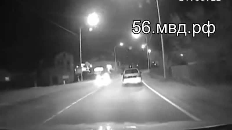 Полицейские Оренбурга задержали несовершеннолетнего водителя автомобиля