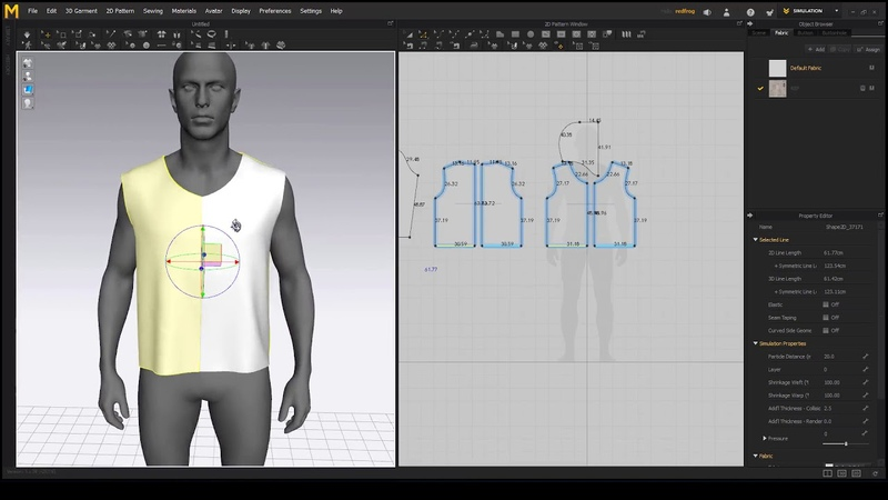Making a Sci Fi Overall in Marvelous Designer 6.5 - Chapter 02
