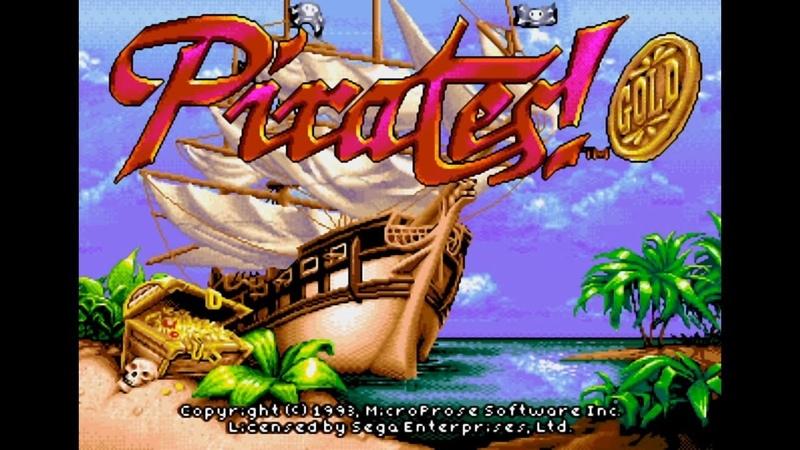 Pirates! Gold. SEGA Genesis. Full Game Walkthrough