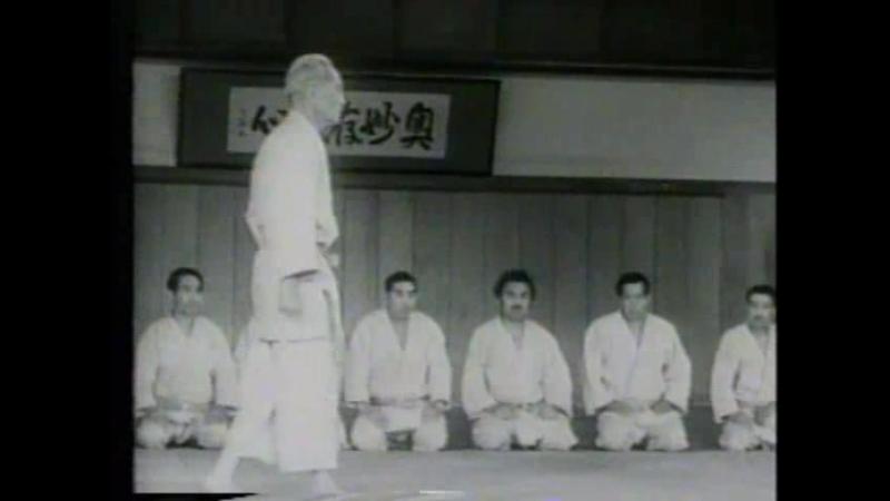 Кюдзо Мифунэ (10 дан) - дзюдо Кодокан