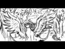 Стрим Kass Berke / Рисуем дракона с нуля - часть 1