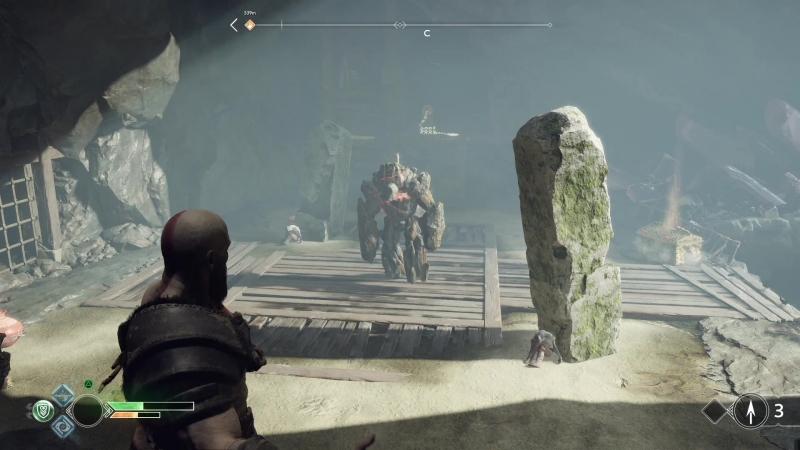 Прохождение God of War 8 (PS4) - Велундерские рудники