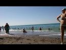 Пляж Судака море немного не спокойное)