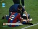 1 тайм Чемпионат Испании Барселона-Эспаньол 2006-2007гг