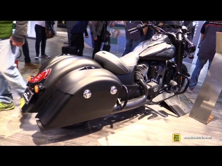 2018 indian springfield dark horse walkaround 2017 eicma milan motorcycle exhibition