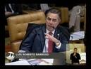 No STF, Barroso diz que tratados internacionais estão acima da lei brasileira