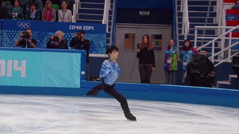 Yuzuru Hanyu - Parisian Walkways (2014 SP)