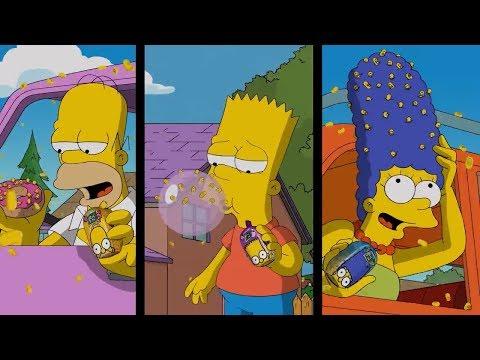 Симпсоны в рекламе Тик Так