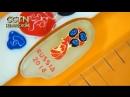 Сибирский Левша нарисовал эмблему ЧМ 2018 размером 3 миллиметра на рисовом зернышке